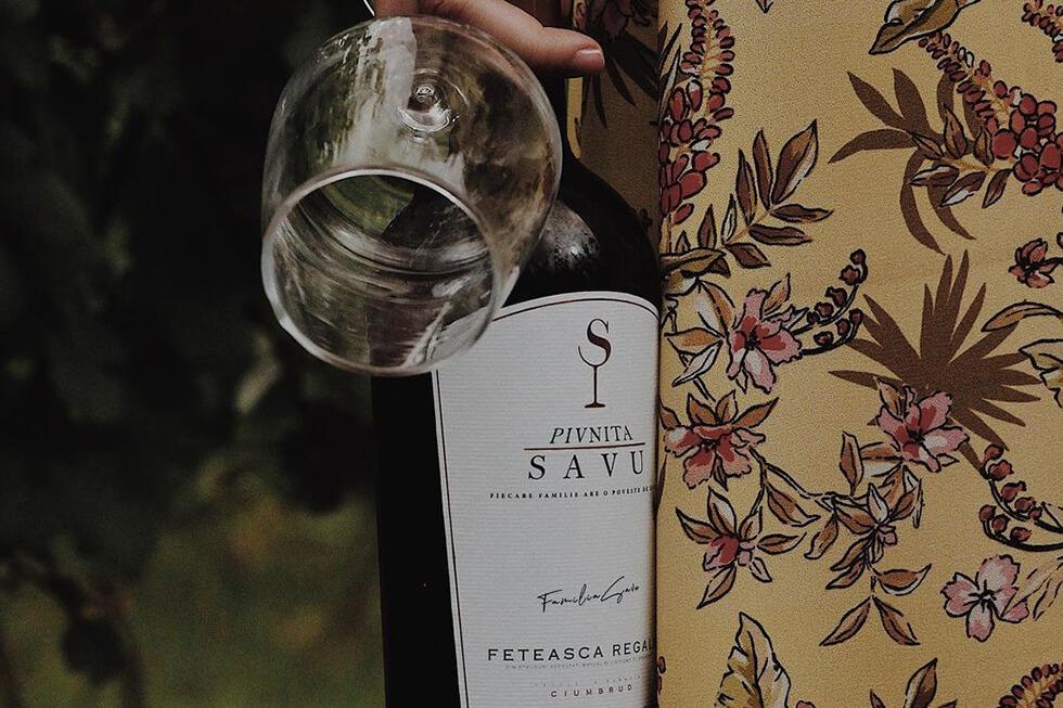 Pivnita Savu Winery Vin Romanesc Natural Producator local
