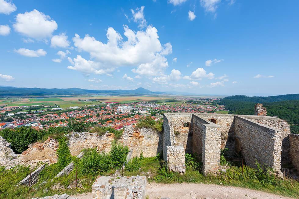 Cetatea Medievala Rasnov - Destinatie Turistica Romania