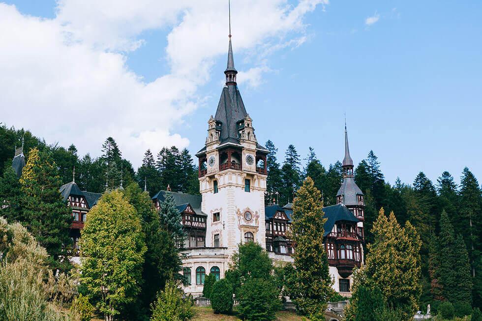 Castelul Peles Discover Romania Tursim castel de Poveste