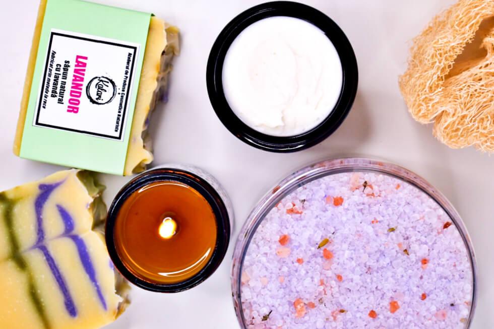 Produse cosmetice fabricate in Romania din ingrediente naturale
