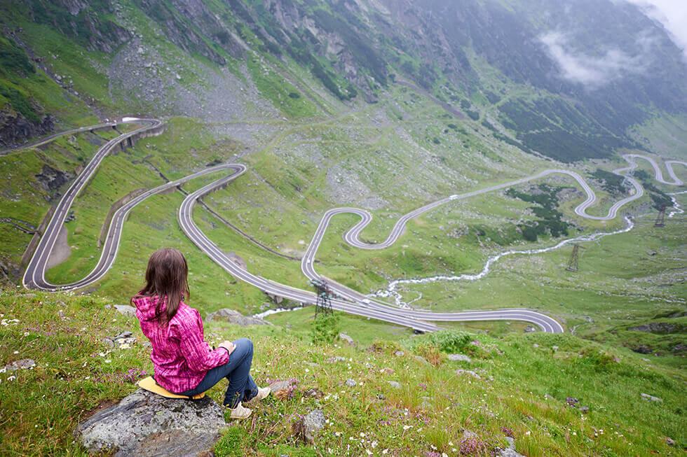 Transfagarasan Sosea Romania Destinatie Turistica